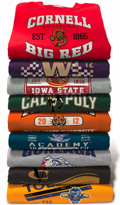 Prep Sportswear Custom High School and College Apparel